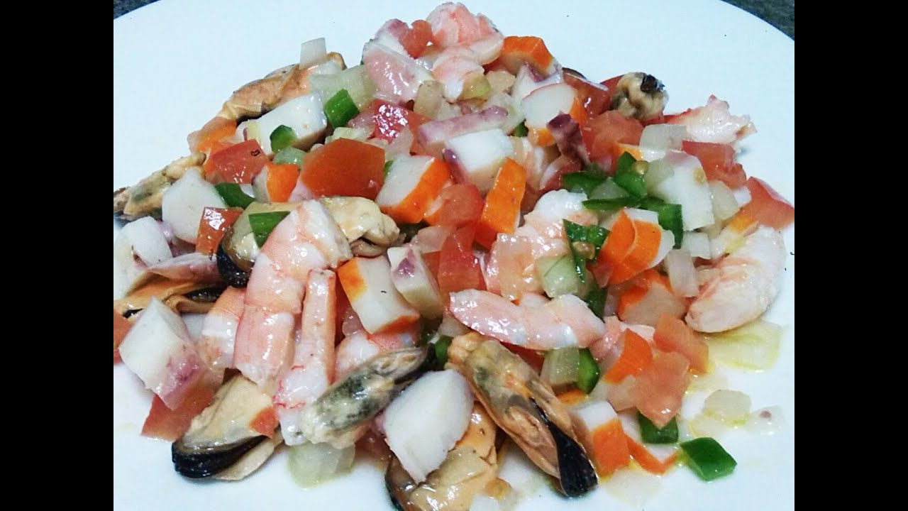 Salpicon De Marisco Recetas De Cocina Faciles