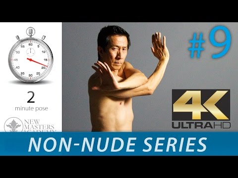 Drawing The Human Form - Figure Drawing Reference Images (NON-NUDE SERIES DLDS #9) In 4K