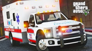 GTA 5 EMS Mod #1 - First Shift!