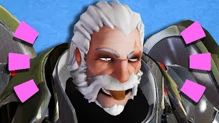 Overwatch - REINHARDT HAS THE ABILITY TO UNINTENTIONALLY CHARGE HEROES THROUGH WALLS