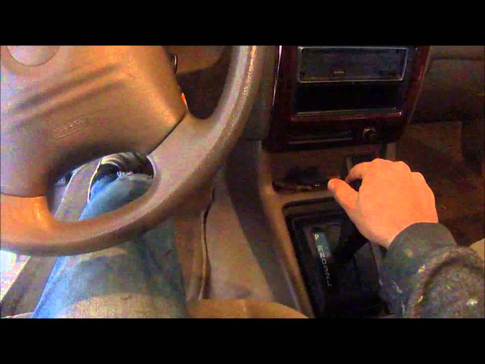2002 Isuzu Rodeo Transmission Fluid Check Youtube