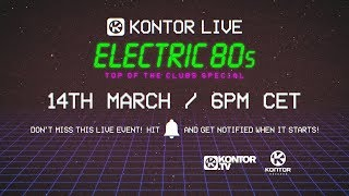 Electric 80s - Kontor Top Of The Clubs (2019) - Электро 80-х - Kontor.TV