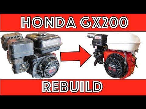 Honda GX200 Rebuild!