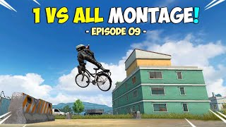 ROS 1 vs. ALL Kill Montage! Episode 09 (Rules of Survival)