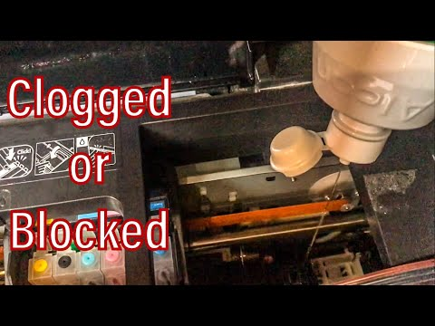 How to Clean Clogged or Blocked EPSON Printer Head Nozzle   The easiest Way