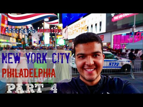 An Amtrak Journey Across The United States: America's Identity Part 4 New York - Philadelphia