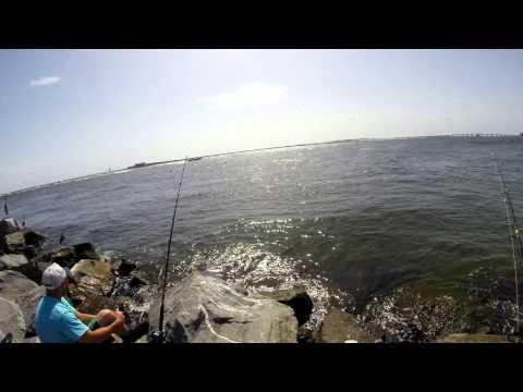 Destin Florida Jetty/Night Fishing - June 2015