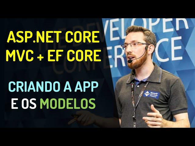 ASP.NET Core MVC + EF Core Code First: Criando a aplicação e os modelos