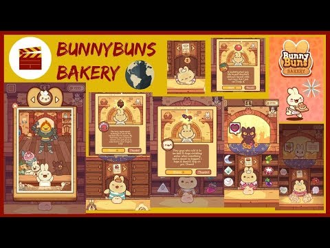 "BunnyBuns Walkthrough - BunnyBuns Bakery And ""Becoming Family"" (iOS)"