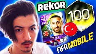 REKOR BÖLÜM !! TÜRK KADROMUZ 100 GEN OLUYOR !!! Fifa Mobile