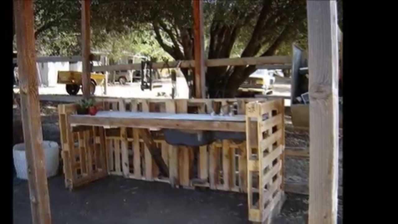 las 30 mejores ideas de muebles con palets para el jardin