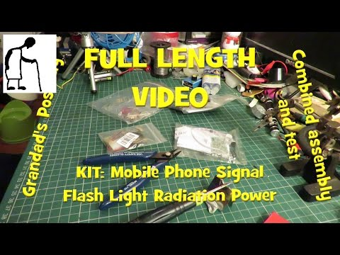 Mobile Phone Signal Flash Light Radiation Power FULL LENGTH VIDEO