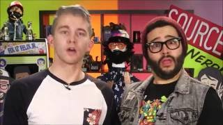 Sourcefed & NERD// Funny Moments (Part 1)