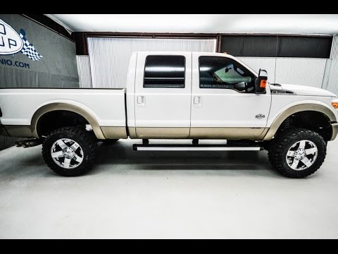 2012 ford f350 king ranch diesel lifted truck youtube. Black Bedroom Furniture Sets. Home Design Ideas
