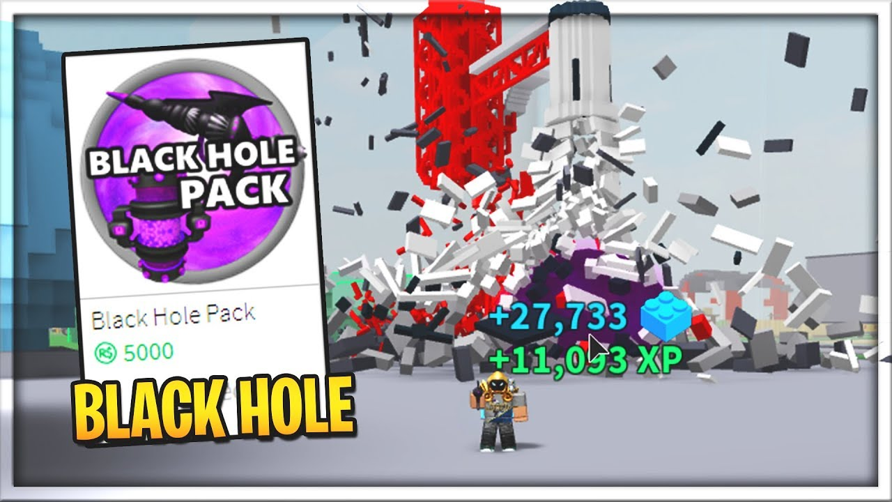 NEW! 💥Destruction Simulator Black hole | Roblox - YouTube