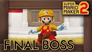 Super Mario Maker 2 - Final Boss & Ending