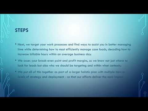 Fort Myers Law Firm Marketing | Steps in Our Process