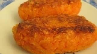 Очень вкусные морковные котлеты
