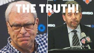 The REAL Reason Why the Knicks Won't Fire Phil Jackson (James Dolan Drama)