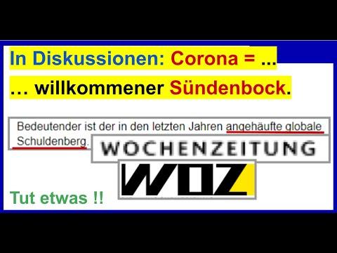 Warum weltweit Corona? Nachricht: Willkommener Sündenbock (WOZ,)из YouTube · Длительность: 15 мин17 с