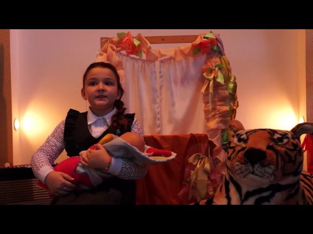 Изображение предпросмотра прочтения – АнастасияБарыбина читает произведение «Колыбельная (Спи, мой мальчик!)» В.Я.Брюсова