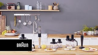 Braun MultiQuick 9 Hand Blender - Evolved to tackle the toughest jobs.
