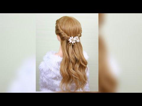 Easy Party Hairstyle/Hair Style Girl/ทรงผมออกงาน