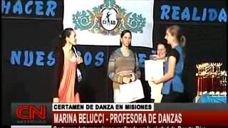 MARINA BELUCCI   CERTAMEN DE DANZA EN PUERTO RICO MISIONES