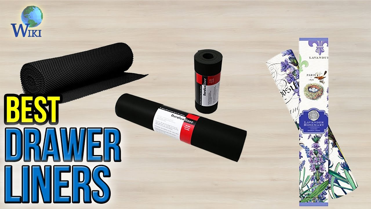 10 Best Drawer Liners 2017 - YouTube