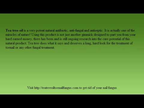 Tea Oil Remedy – Tea Tree Oil Toenail Fungus Remedies Work Fast!