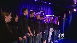 Finalists Try Out To Sing National Anthem At Foster Farms Bowl