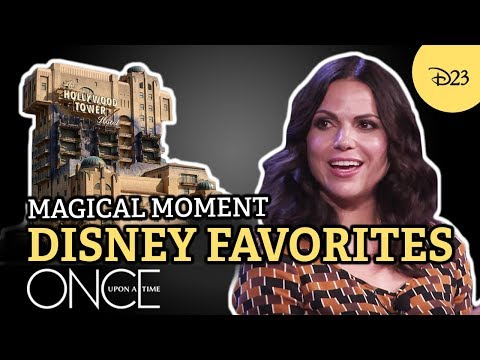 Once Upon a Time Cast Reveals Their Disney Favorites   Magical Moment