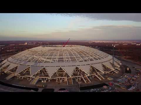 Стадион Самара Арена 11.11.2017 (Video 4K)