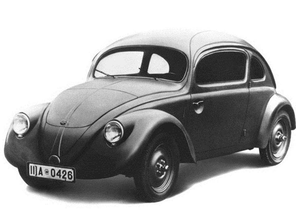 Volkswagen Beetle 1937 Prototype Car