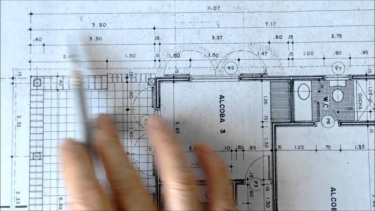 La cota youtube for Planta arquitectonica de una oficina