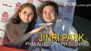 Jinri Park FHM's Autograph Signing