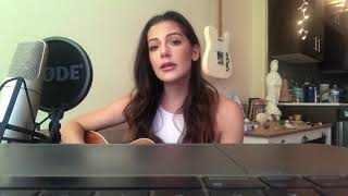 No Tears Left To Cry - Ariana Grande (Davina Leone Acoustic Cover)