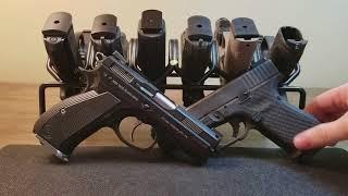 What is a better EDC a GLOCK 19 or a CZ P01?  What is a Carry Rotation?