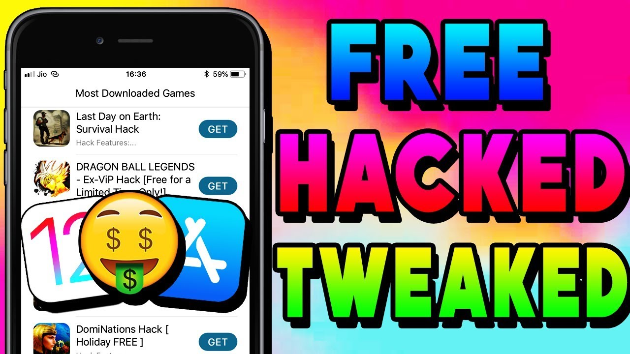 Download hack game ios no jailbreak | How to Install Hacked