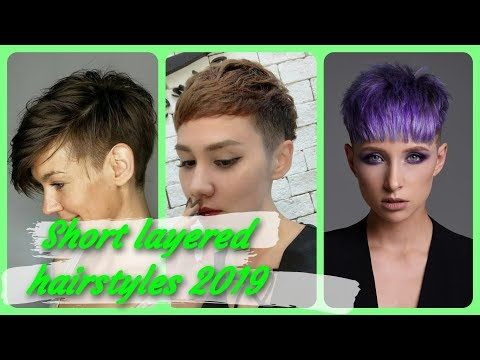 20 new 💝 Ideas for short layered hairstyles 2019