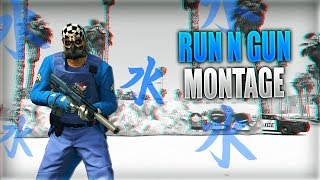 RUN N GUN Montage | GTA 5 Online (RNG Training Facility)
