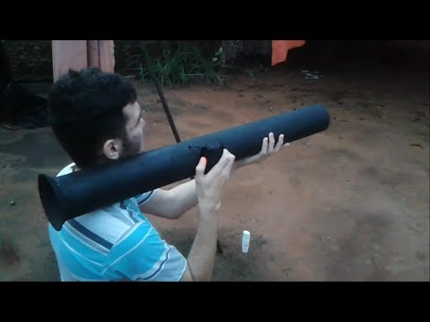 Bazooka caseira / Homemade bazooka