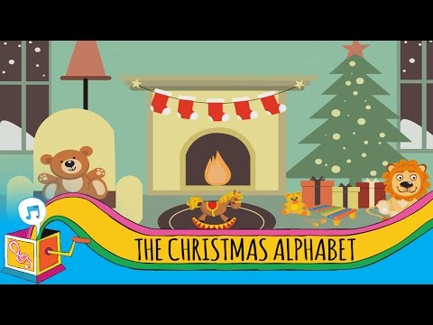 The Christmas Alphabet | Children's Christmas Song