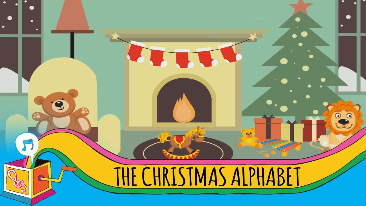 The Christmas Alphabet | Children's Christmas Song - YouTube