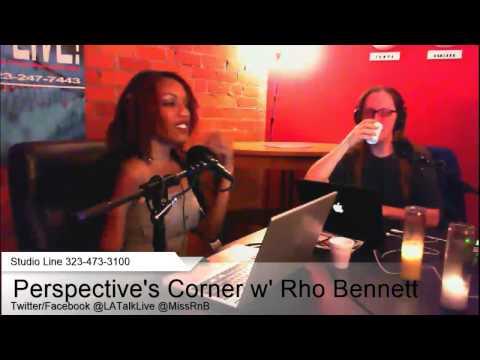 Perspective's Corner w' Rhona Bennett 12-05-13
