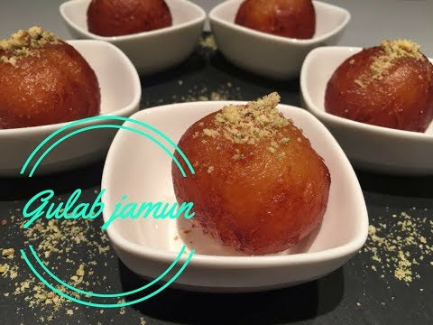 Gulab Jamun/Gulab Jamun made with milk powder/Asian Sweets/Asian Desserts/Eid Special