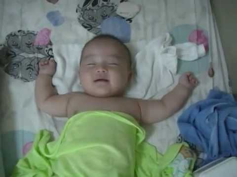 Baby Laugh During Sleep