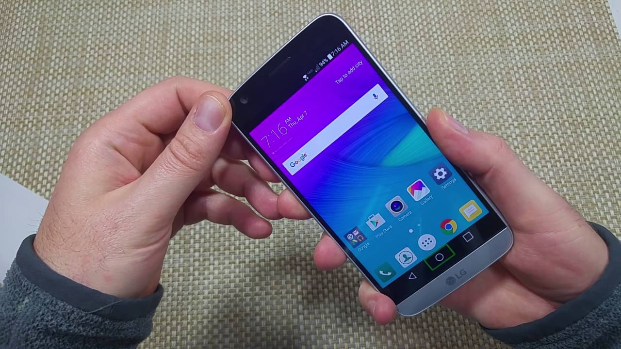 LG G5 two ways to turn off TalkBack VOICEOVER accessibility option