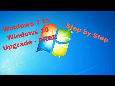 windows 7 to windows 10 free upgrade