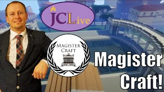 JCLive: Minecraft, bees, and speaking Latin with special guest Magister Craft!